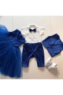 Set surioara- fratior albastru royal