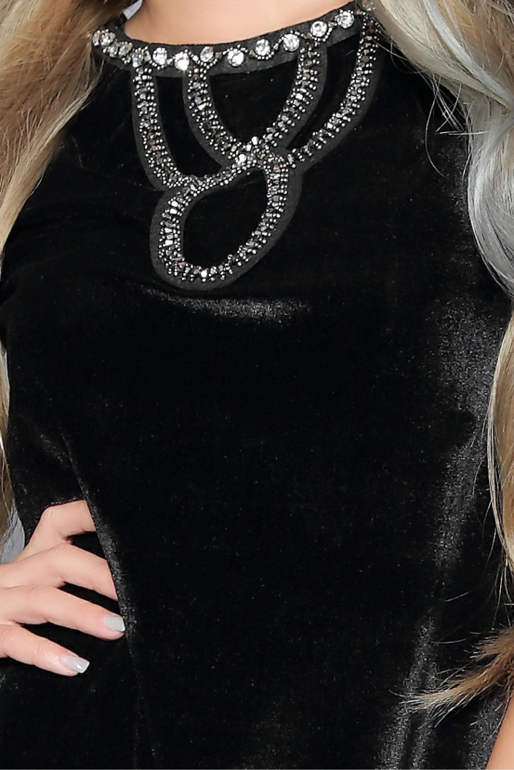 Rochie clopotel cu accesoriu