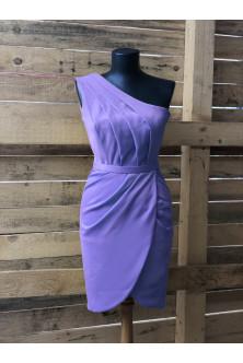 Rochie din crep lavanda