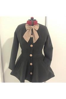 Palton cu peplum
