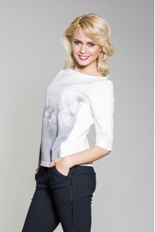 Bluza Peisaj in degrade