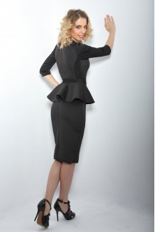 Rochie Little Black Dress de iarna