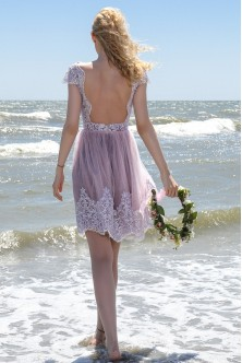 Liliac-dusty pink dress